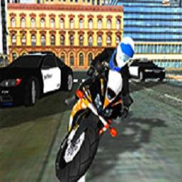 City Police Bike Simulator