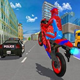 Hero Stunt Spider Bike Simulator 3D 2