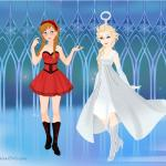 Anna and Elsa Halloween