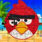 Funny Birds Pop It Jigsaw