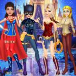 Princesses Justice League Dress