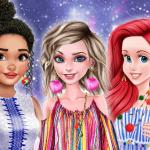 Princesses Pom Poms Fashion