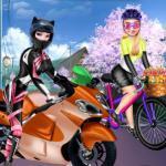 Sisters Motorcycle Vs Bike